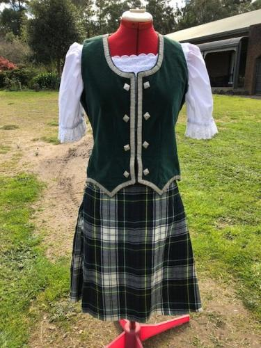 Dress Gordon Kilt outfit $150